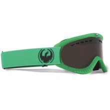 Dragon Optical DX Snowsport Goggles in Matte Emerald Green/Eclipse - Closeouts