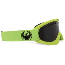 Dragon Optical DX Snowsport Goggles in Matte Green/Eclipse - Closeouts