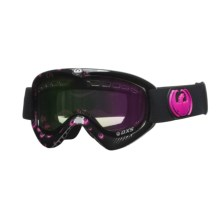 Dragon Optical DXS Goggles with Ionized Lens in Pink Icon Logo/Pink Ion/Amber - Closeouts