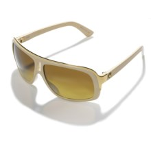 Dragon Optical GG Sunglasses (For Men and Women) in Ivory/Bronze Gradient - Closeouts