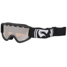 Dragon Optical Lil D Snowsport Goggles - Ionized Lens (For Kids) in Coal/Ionized - Closeouts