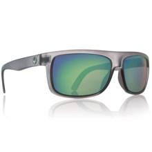 Dragon Optical Wormser Sunglasses in Matte Grey/Green Ion - Closeouts