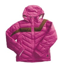 Dragonflies Damsel Jacket - Insulated (For Girls) in Fuchsia - Closeouts