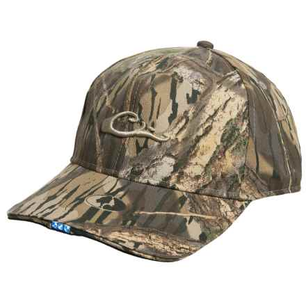 Drake Camo Baseball Cap with LED Light (For Men) in Mossy Oak Shadow Branch - Closeouts