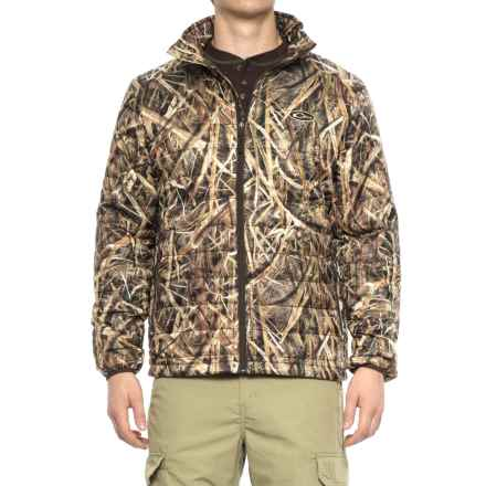 Drake Camo Synthetic Down Jacket - Insulated (For Men) in Mossy Oak Blades - Closeouts