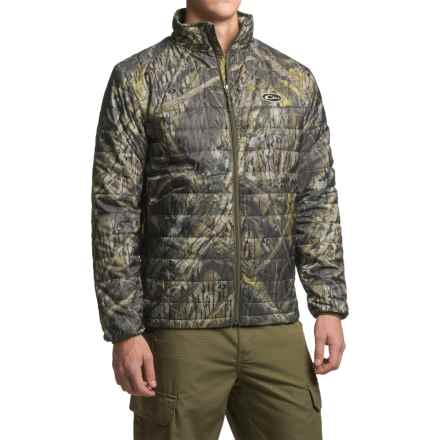 Drake Camo Synthetic Down Jacket - Insulated (For Men) in Shadow Branch - Closeouts