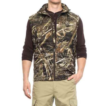 Drake Camo Synthetic Down Vest - Insulated (For Men) in Realtree Max-5 - Closeouts