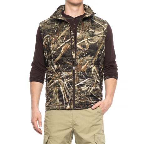 Drake Camo Synthetic Down Vest - Insulated (For Men) in Realtree Max-5