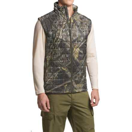 Drake Camo Synthetic Down Vest - Insulated (For Men) in Shadow Branch - Closeouts