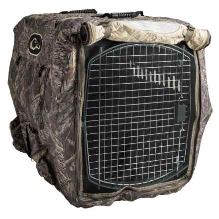 Drake Deluxe Adjustable Kennel Cover - Insulated, L/XL in Mossy Oak Shadow Branch - Closeouts