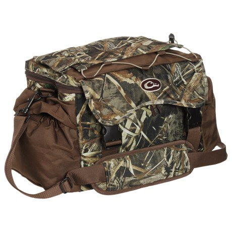 19793230dbd94 Drake Dog Trainer's Field Bag - 1900 cu.in. in Mossy Oak Blades