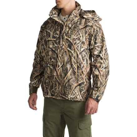 Drake EST Vented Jacket - Waterproof, Zip Neck (For Men) in Mossy Oak Shadow Grass Blades - Closeouts