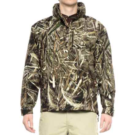 Drake EST Vented Jacket - Waterproof, Zip Neck (For Men) in Realtree Max-5 - Closeouts