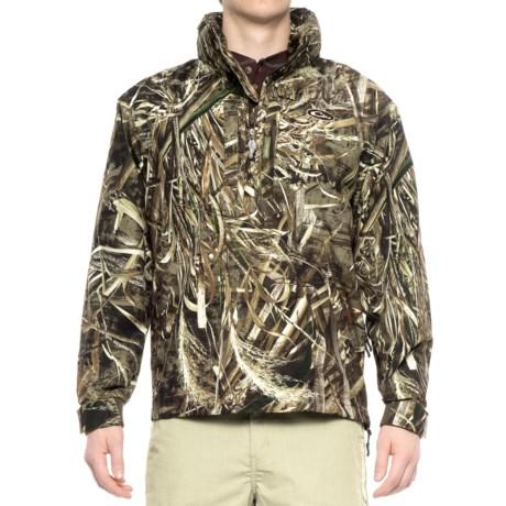 Drake EST Vented Jacket - Waterproof, Zip Neck (For Men) in Realtree Max-5
