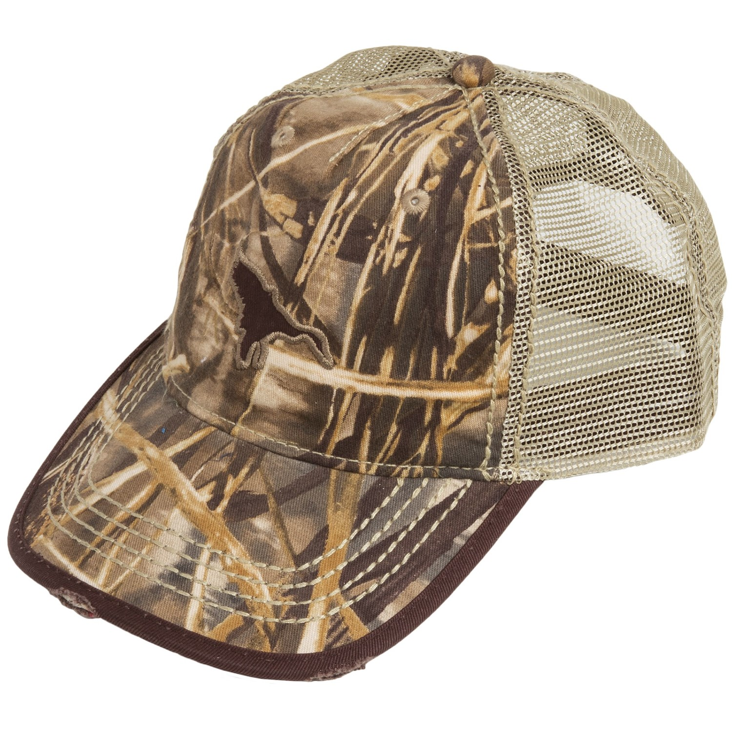Banded Ducks Flying Drake Flying Duck Trucker Hat
