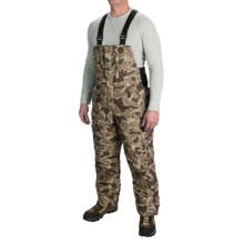 Drake LST Bib Overalls - Waterproof, Insulated (For Big Men) in Old School Timber - Closeouts