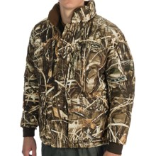 Drake LST Down Coat - Insulated (For Big Men) in Realtree Max4 - Closeouts