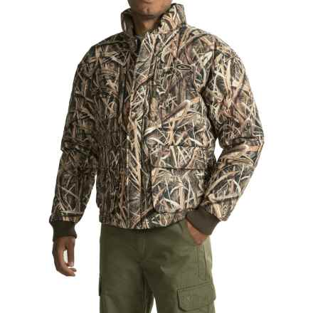 Drake LST Down Coat - Insulated (For Men) in Mossy Oak Shadow Grass Blades - Closeouts