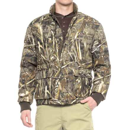 Drake LST Down Coat - Insulated (For Men) in Realtree Max-5 - Closeouts