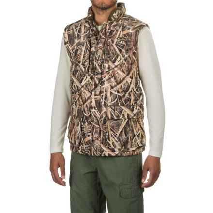 Drake LST Magnattach Camo Down Vest - Waterproof, Insulated (For Men) in Mossy Oak Shadow Grass Blades - Closeouts