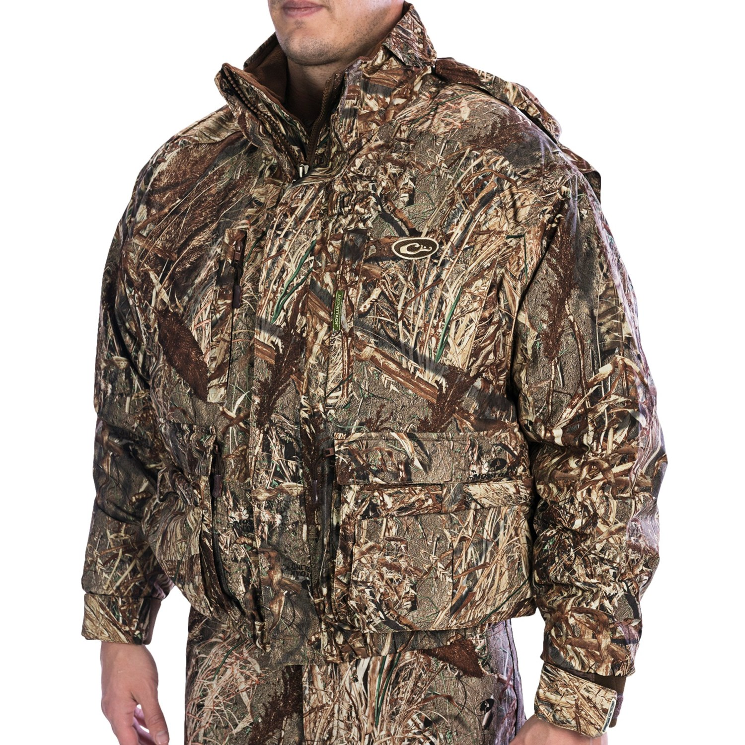 Drake Lst Wader Coat Waterproof Insulated 4 In 1 For