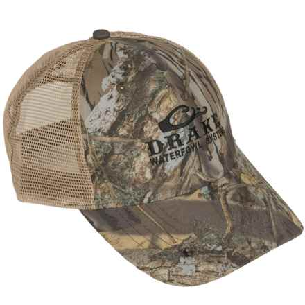 Drake Mesh Back Baseball Cap (For Men) in Shadow Branch - Closeouts