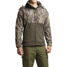Drake MST Eqwader Deluxe Full-Zip Camo Jacket - Waterproof (For Men) in Shadow Branch - Closeouts