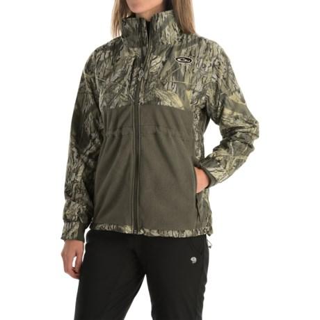 Drake MST Eqwader Jacket - Waterproof, Fleece Lined (For Women) in Shadow Branch