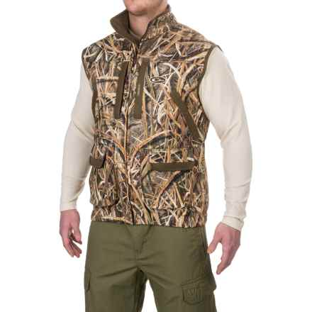 Drake MST Refuge Vest 2.0 - Waterproof (For Men) in Mossy Oak Shadow Grass Blades - Closeouts