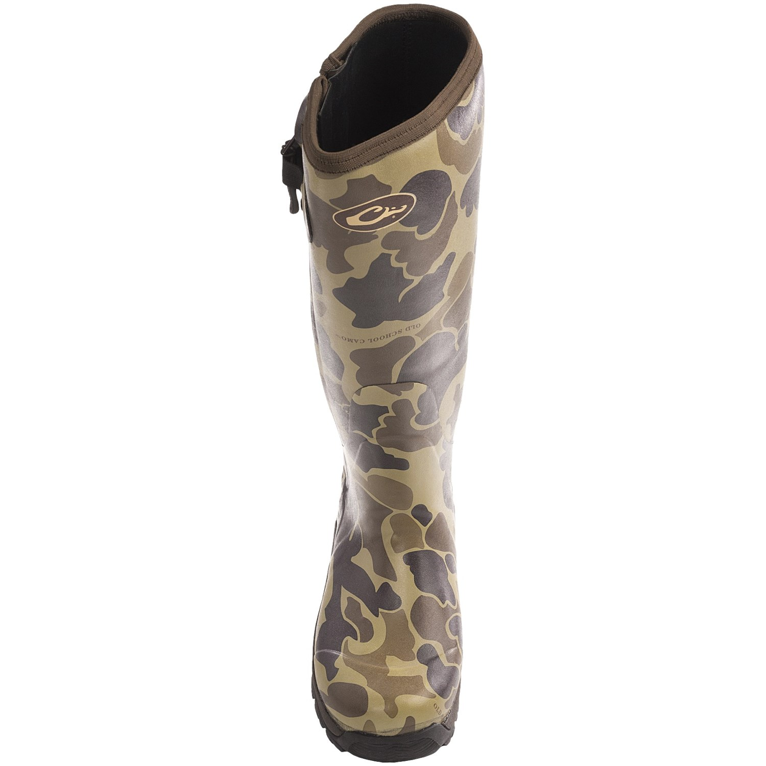 Drake Mst Side Zip Camo Knee High Mudder Rubber Boots For