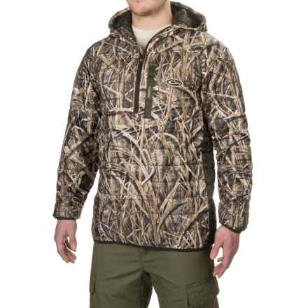 Drake MST Synthetic Down Packable Hoodie - Zip Neck, Insulated (For Men) in Mossy Oak Shadow Grass Blades - Closeouts