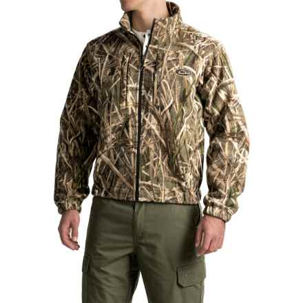 Drake MST Windproof Fleece Layering Coat (For Men) in Mossy Oak Shadow Grass Blades - Closeouts