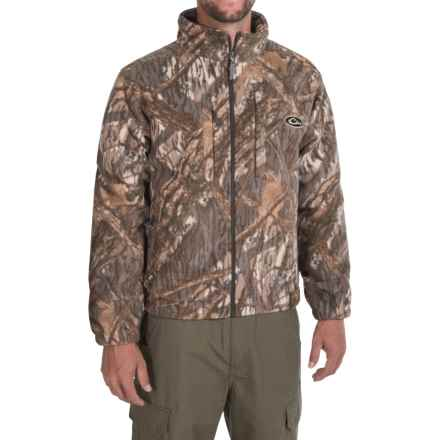Drake MST Windproof Fleece Layering Coat (For Men) in Shadow Branch - Closeouts