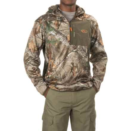 Drake Non-Typical Endurance Hoodie - Zip Neck (For Men and Big Men) in Realtree X-Tra - Closeouts