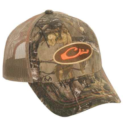 Drake Non-Typical Mesh Back Baseball Cap (For Men) in Realtree X-Tra - Closeouts