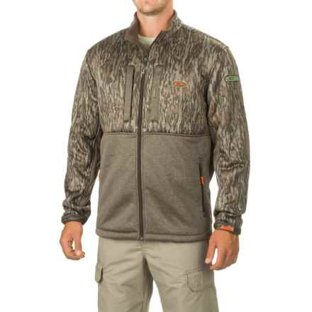Drake Non-Typical Silencer Double-Impact Jacket (For Men and Big Men) in Mossy Oak Bottomland - Closeouts