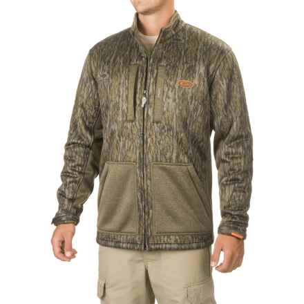 Drake Non-Typical Silencer Soft Shell Jacket (For Men and Big Men) in Mossy Oak Bottomland - Closeouts