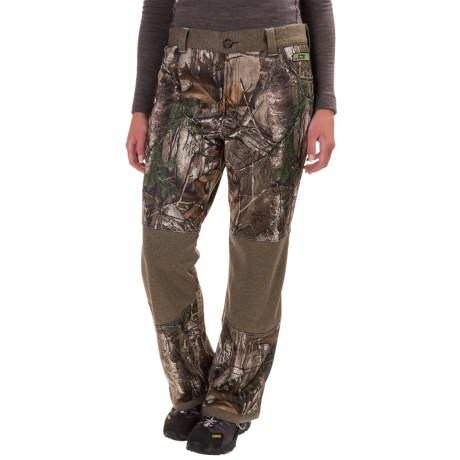 Drake Non-Typical Silencer Soft Shell Pants (For Women) in Realtree X-Tra