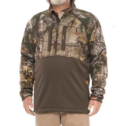 Drake Silencer Jacket - Zip Neck (For Men) in Realtree Xtra - Closeouts