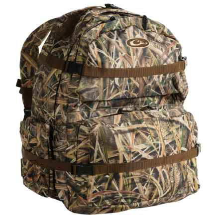 Drake Walk-In Backpack - Extra Large in Mossy Oak Shadow Grass Blades - Closeouts