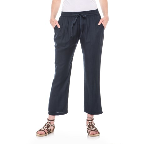 Drawstring Crop Pants (For Women)