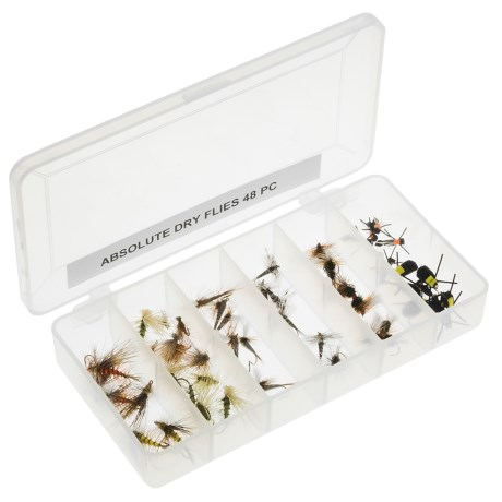 Dream Cast Absolute Assorted Dry Flies - 4 Dozen in Asst
