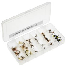 Dream Cast Absolute Assorted Dry Flies - 4 Dozen in See Photo - Closeouts