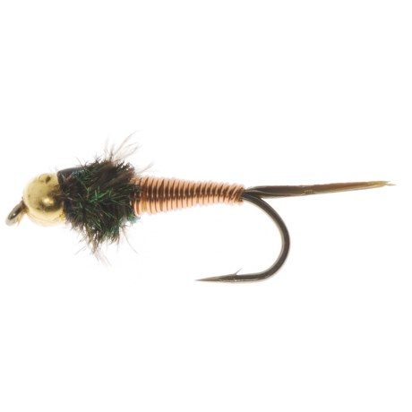 Dream Cast Bead Head BH Copper John Nymph Fly - Dozen in Copper
