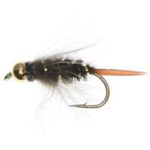Dream Cast Bead Head CDC Prince Nymph Fly - Dozen in Peacock - Closeouts
