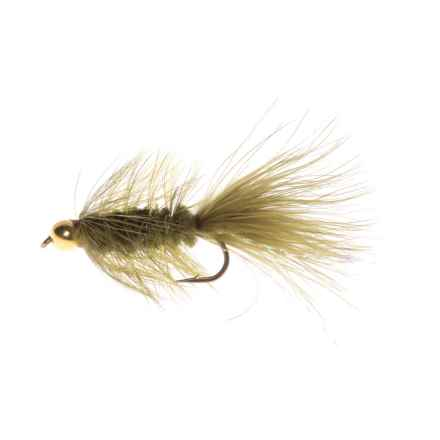 Dream Cast Bead Head L/B Wooly Bugger Streamer Fly - Dozen in Olive - Closeouts