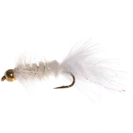 Dream Cast Bead Head L/B Wooly Bugger Streamer Fly - Dozen in White - Closeouts