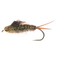 Dream Cast Bead Head Rogue Ice Stone Nymph Fly - Dozen in Gold - Closeouts