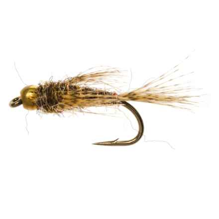 Dream Cast Beadhead Bird's Nest Hare's Ear Nymph Fly - Dozen in Hares Ear - Closeouts