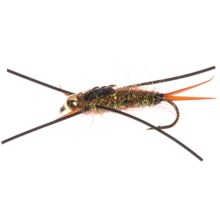 Dream Cast Big Nymph Fly with Legs - Dozen in Gold - Closeouts